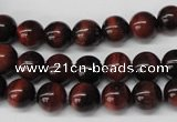 CRO116 15.5 inches 8mm round red tiger eye beads wholesale