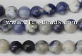 CRO120 15.5 inches 8mm round sodalite gemstone beads wholesale