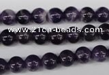 CRO150 15.5 inches 8mm round dogtooth amethyst beads wholesale