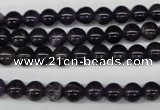 CRO33 15.5 inches 6mm round amethyst gemstone beads wholesale