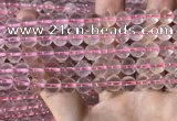 CRQ440 15.5 inches 8mm round rose quartz beads wholesale