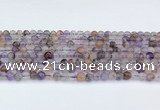 CRU1011 15.5 inches 5mm round mixed rutilated quartz beads