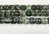 CRZ792 15.5 inches 20*20mm square ruby zoisite gemstone beads