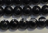 CRZ951 15.5 inches 6mm - 6.5mm round A- grade natural sapphire beads