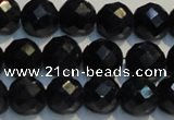 CRZ969 15.5 inches 6mm – 6.5mm faceted round AA grade sapphire beads