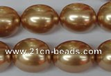 CSB126 15.5 inches 14*18mm – 15*20mm rice shell pearl beads