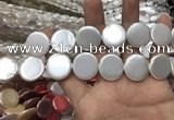CSB2141 15.5 inches 20mm coin shell pearl beads wholesale