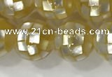 CSB4021 15.5 inches 12mm ball abalone shell beads wholesale