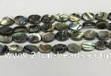 CSB4127 15.5 inches 10*14mm oval abalone shell beads wholesale