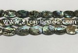CSB4164 15.5 inches 18*25mm flat drum abalone shell beads wholesale