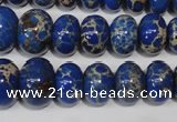 CSE301 15.5 inches 7*10mm – 15*20mm rondelle dyed sea sediment jasper beads