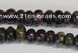 CSG72 15.5 inches 5*8mm rondelle long spar gemstone beads wholesale