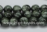 CSH03 15.5 inches 10mm round natural seraphinite gemstone beads