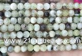 CSJ301 15.5 inches 6mm round serpentine new jade beads wholesale