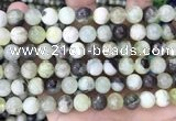 CSJ302 15.5 inches 8mm round serpentine new jade beads wholesale
