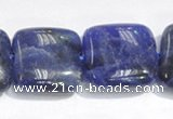 CSO06 15.5 inches 8mm square A grade sodalite beads wholesale