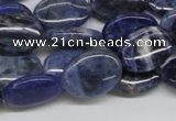 CSO47 15.5 inches 13*18mm oval sodalite gemstone beads wholesale