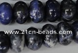 CSO53 15.5 inches 12*18mm rondelle sodalite gemstone beads