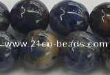 CSO835 15.5 inches 14mm round orange sodalite beads wholesale