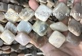 CSS432 15.5 inches 25*25mm diamond sunstone beads wholesale
