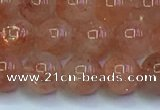 CSS714 15.5 inches 7mm round natural golden sunstone beads