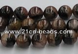 CST04 15.5 inches 10mm round staurolite gemstone beads wholesale