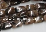 CST12 15.5 inches 8*12mm rectangle staurolite beads wholesale