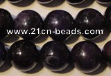 CSU114 15.5 inches 9mm round natural sugilite gemstone beads