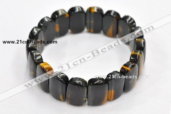 CTB19 7.5 inches 12*20mm tiger eye stretch bracelet wholesale