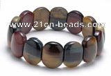 CTB22 7.5 inches 8*14mm tiger eye stretch bracelet wholesale
