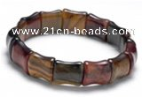CTB24 7 inches 13*15mm tiger eye stretch bracelet wholesale