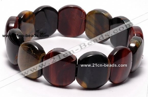 CTB25 7 inches 16*18mm tiger eye stretch bracelet wholesale