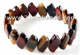 CTB27 7.5 inches 5*9*15mm  marquise tiger eye stretch bracelet