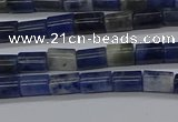 CTB306 15.5 inches 4*6mm tube sodalite beads wholesale