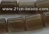 CTB511 15.5 inches 10*13mm triangle sunstone beads wholesale