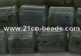 CTB514 15.5 inches 10*13mm triangle A grade labradorite beads wholesale