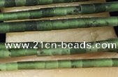 CTB800 15.5 inches 1mm tube Canadian jade beads wholesale