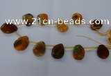 CTD2565 15.5 inches 18*25mm - 30*40mm freeform agate beads