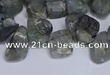 CTD3611 Top drilled 10*14mm - 13*18mm nuggets labradorite beads