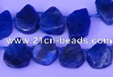 CTD3875 Top drilled 8*10mm - 10*12mm freeform apatite beads