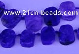 CTD3888 Top drilled 10*14mm - 11*15mm freeform charoite beads