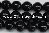 CTE1164 15.5 inches 12mm round A grade blue tiger eye beads