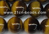 CTE1239 15.5 inches 16mm round A+ grade yellow tiger eye beads