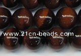 CTE1260 15.5 inches 6mm round AB grade red tiger eye beads