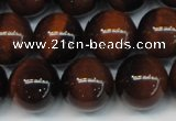 CTE1262 15.5 inches 10mm round AB grade red tiger eye beads