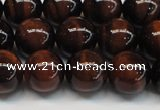 CTE1276 15.5 inches 6mm round A grade red tiger eye beads