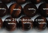 CTE1288 15.5 inches 14mm round A+ grade red tiger eye beads