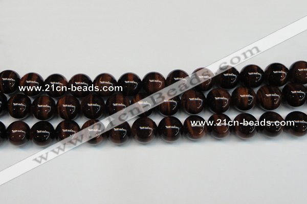 CTE1293 15.5 inches 8mm round AA grade red tiger eye beads