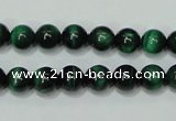 CTE142 15.5 inches 8mm round dyed tiger eye gemstone beads