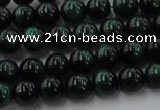 CTE1491 15.5 inches 6mm round green tiger eye beads wholesale